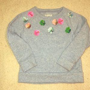 CREWCUTS floral detail sweatshirt!
